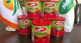تولید رب گوجه فرنگی قوطی