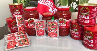 تولید کننده برتر صادرات رب گوجه فرنگی