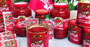 انواع بسته بندی رب گوجه فرنگی چی چی لاس