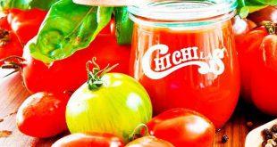 بسته بندی رب گوجه فرنگی چی چی لاس