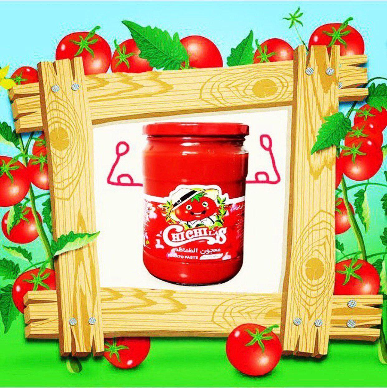 رب گوجه فرنگی شیشه