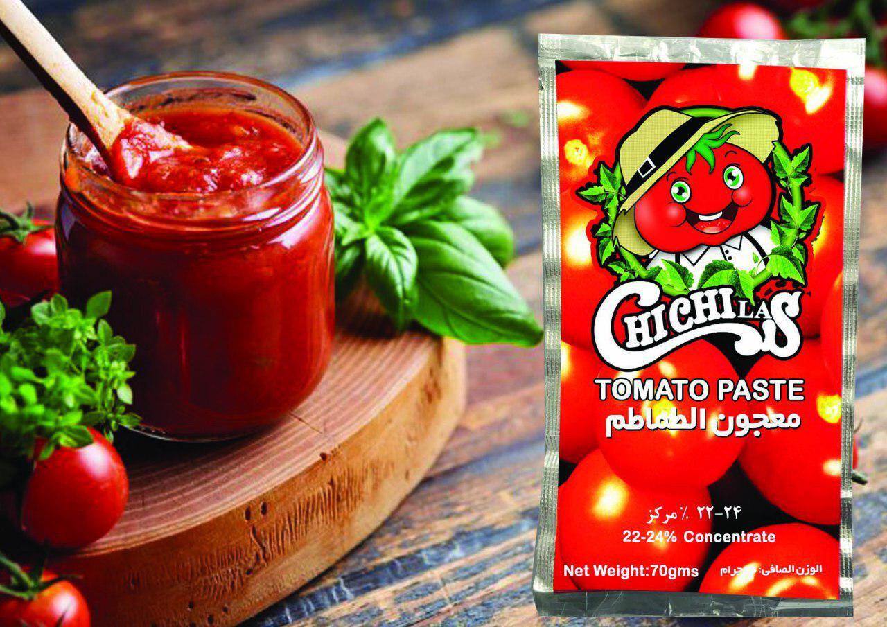 رب گوجه فرنگی چی چی لاس با بسته بندی ساشه