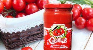 رب گوجه فرنگی خالص با بسته بندی شیشه ای