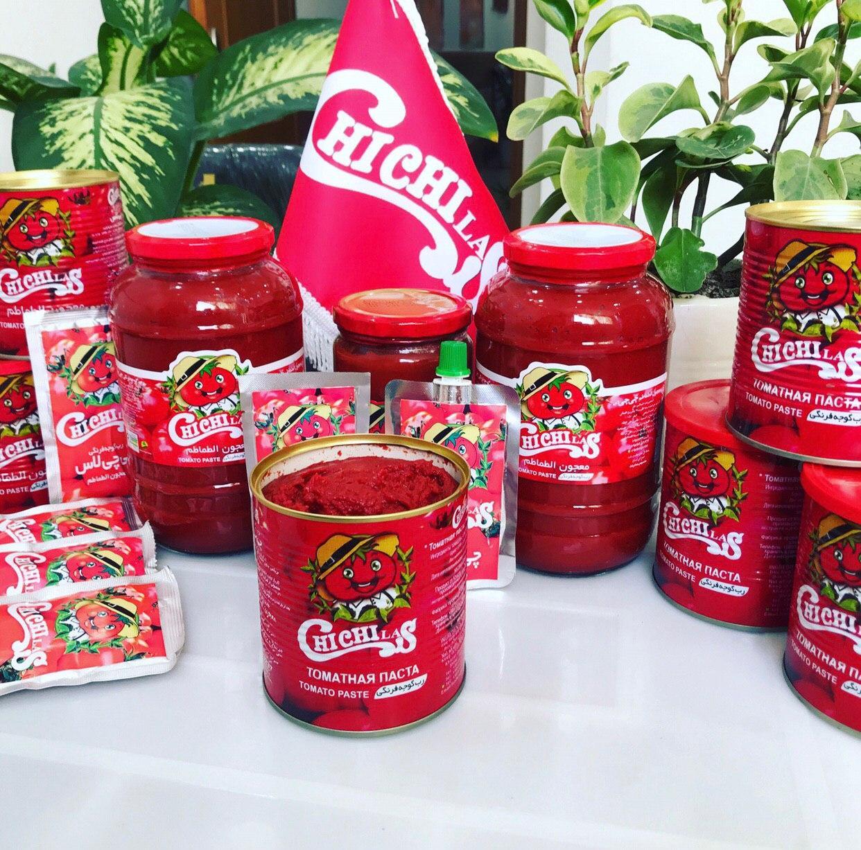 صادرات بهترین مارک رب گوجه فرنگی