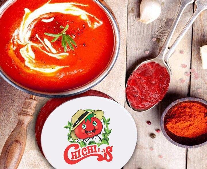 رب گوجه شیشه مرغوب 500 گرمیرب گوجه شیشه مرغوب 500 گرمی چی چی لاس