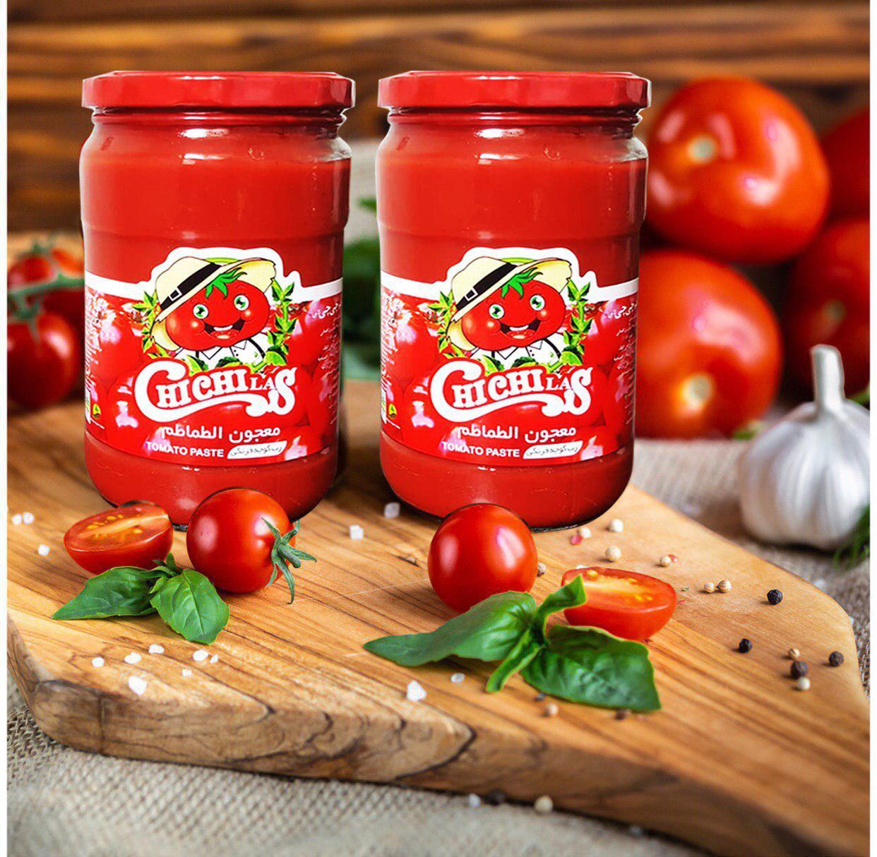فروش رب گوجه شیشه ای ارگانیک