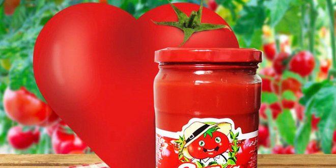 رب گوجه فرنگی شیشه صادراتی