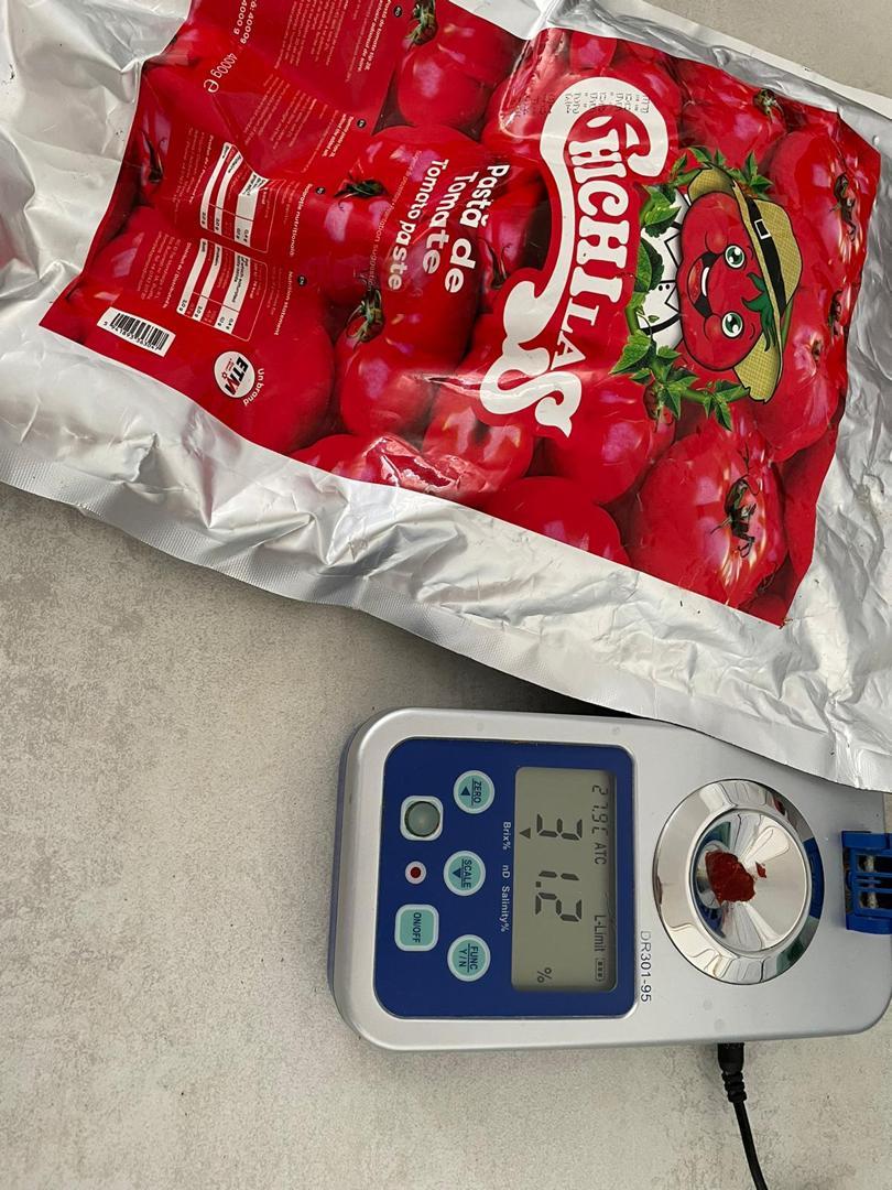 رب گوجه پاکتی صادراتی